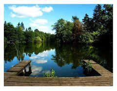 Schloß Dammsmühle --- der See