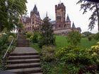 Schloss Drachenburg auf dem Drachenfels im Siebengebirge Königswinter
