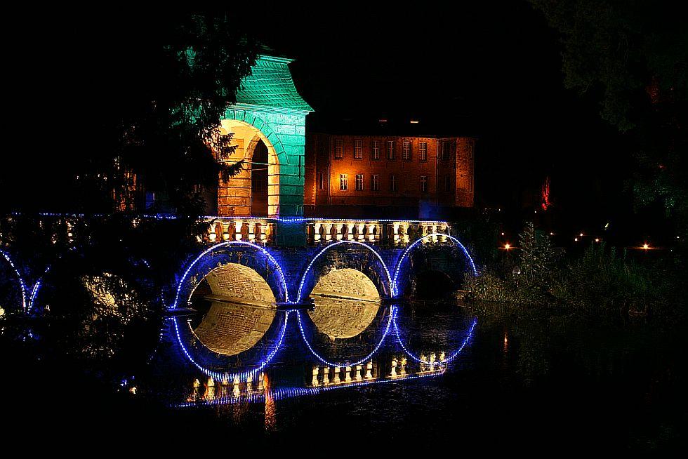Schloss Dyck bei Nacht