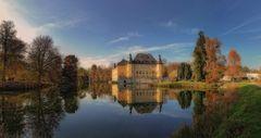 Schloss Dyck im Herbst 2020
