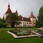 Schloss Eggenberg in Graz mal von hinten gesehen!
