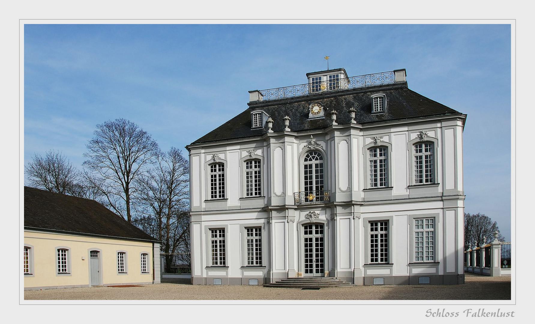 """"""" Schloss Falkenlust """""""