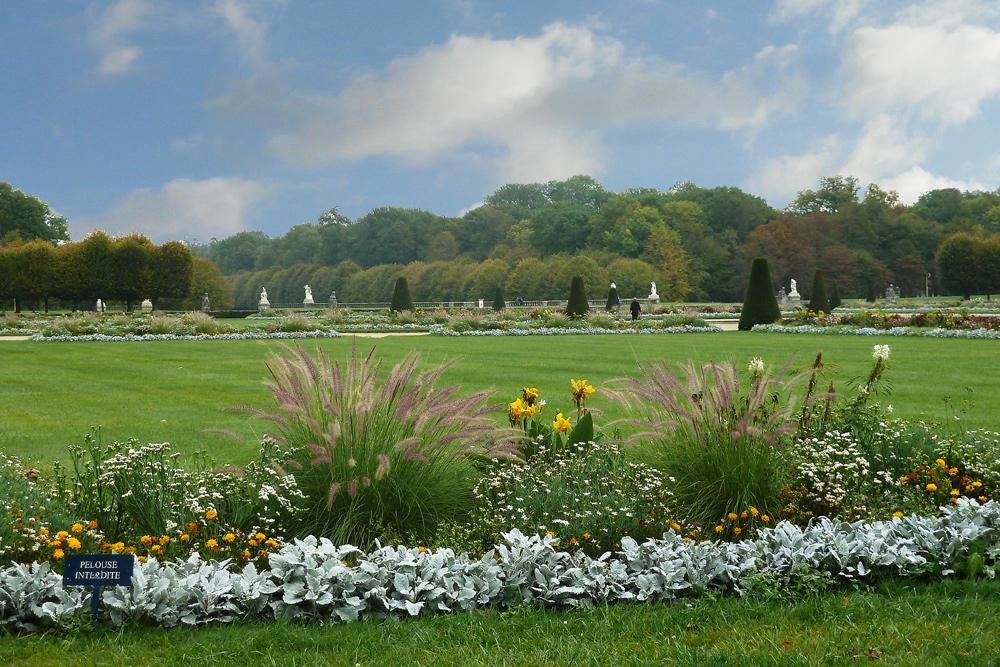 Schloss Fontainebleau - Garten des Schlosses am 13.10.2011
