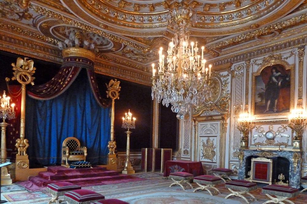 Schloss Fontainebleau - Krönungssaal