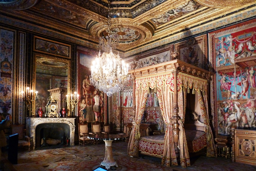schloss fontainebleau schlafzimmer foto bild europe. Black Bedroom Furniture Sets. Home Design Ideas