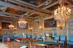 Schloss Fontainebleau - Wohnraum - linke Seite