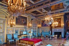 Schloss Fontainebleau - Wohnraum - rechte Seite
