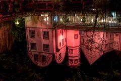 Schloss Gifhorn, nur die Spiegelung