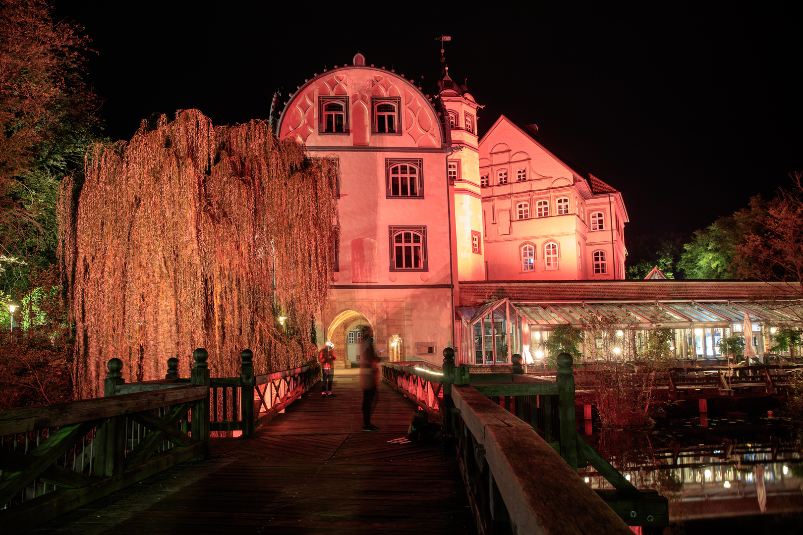 Schloss Gifhorn, vom Steg