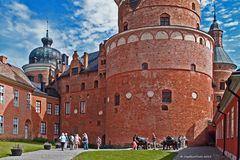 Schloß Gripsholm mit Ihren schönen Rundbögentürme