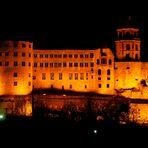 Schloss Heidelberg Ostseite mal ohne Gerüst