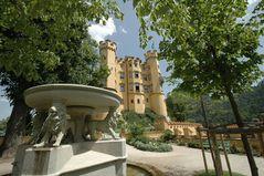 Schloss Hohen- schwangau Löwenbrunnen