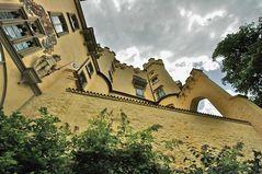 Schloss Hohen- schwangau Seitenblick