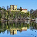 Schloss Hohenschwangau und Alpsee, Bayern