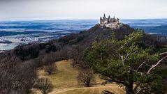 Schloss Hohenzollern vom Zeller Horn, Hechingen, Germany