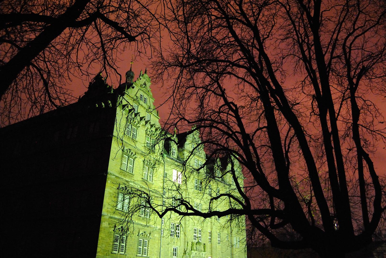Schloss im Roten Schein