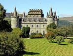 Schloss in den Highlands