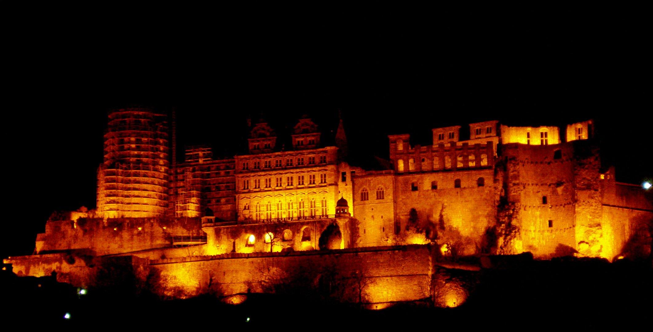Schloss in Flammen - das Heidelberger Schloss