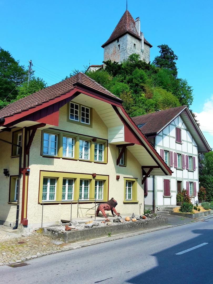 Schloss in Laupen