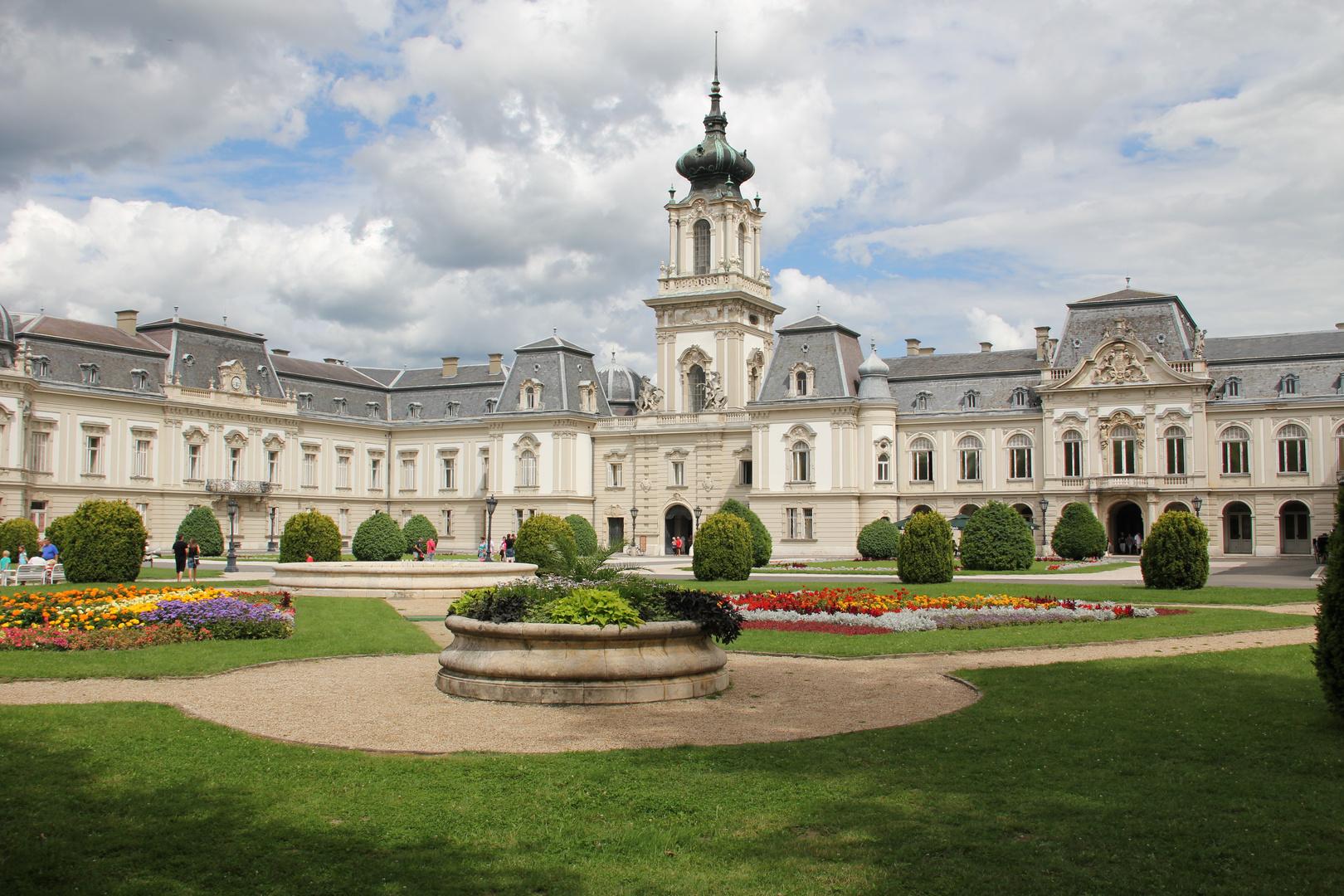 Schloß Kathedrale in Kezthely Rückansicht Teil 1