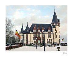 Schloss Klink winterlich