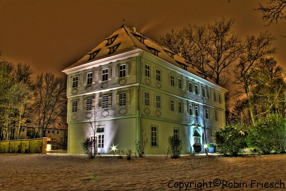 Schloss Köngen bei Nacht