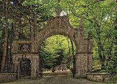 Schloß Landsberg - Eingang zum Park
