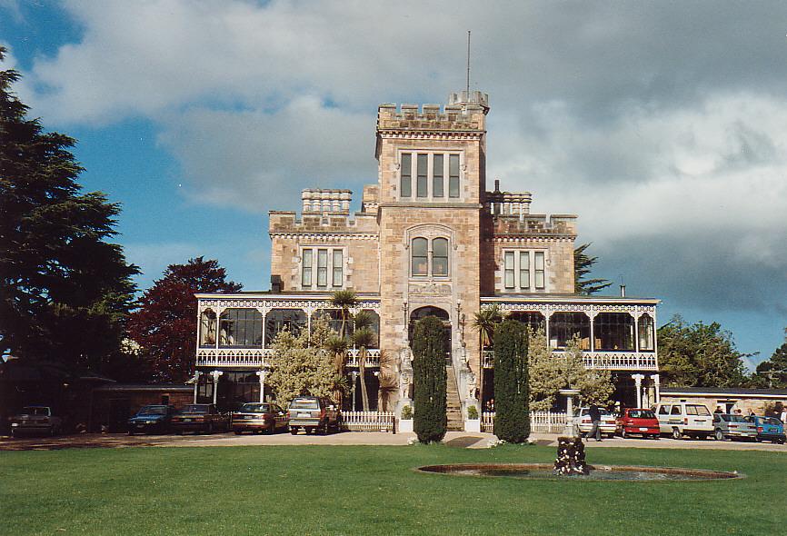 Schloss Larnach/ Peninsula Dunedin, Neuseeland