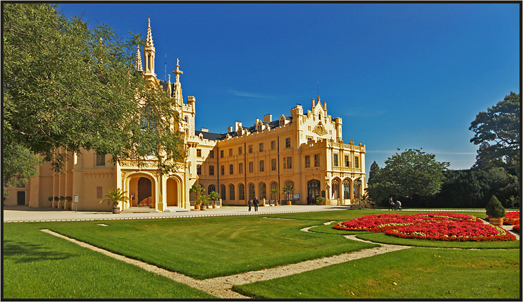 Schloss Lednice, das Schloss meiner Träume...