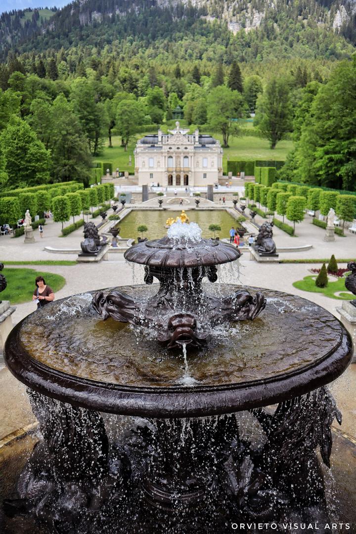 Schloss Linderhof, Detail