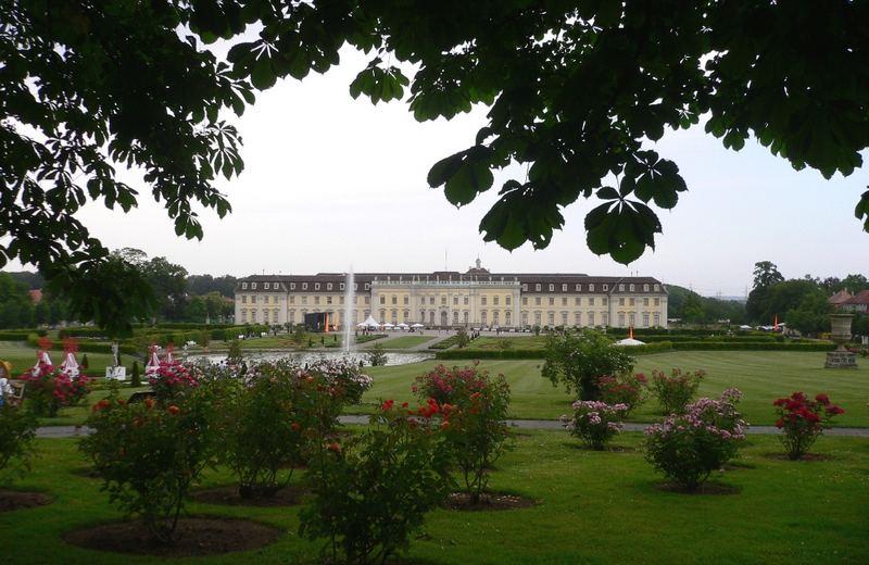 Schloß Ludwigsburg im Mai