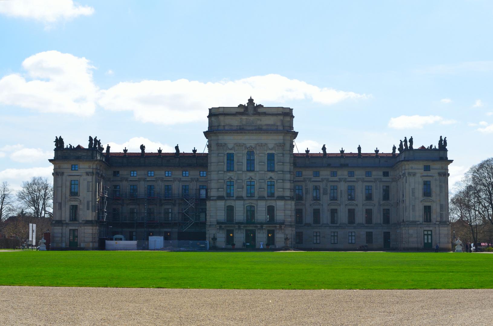 Schloss Ludwigslust - Rückansicht