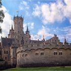 Schloss Marienburg im Sonnenschein
