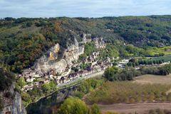 Schloss Marquessac - Blick auf La Roque-Gageac