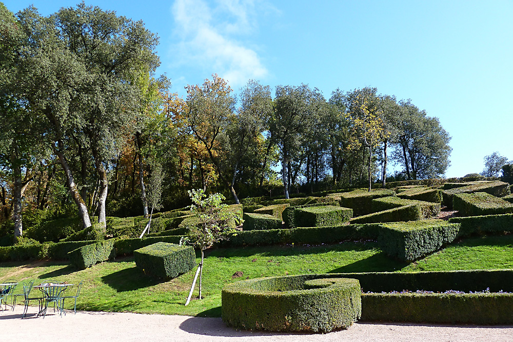 Schloss Marquessac - Gartenanlage