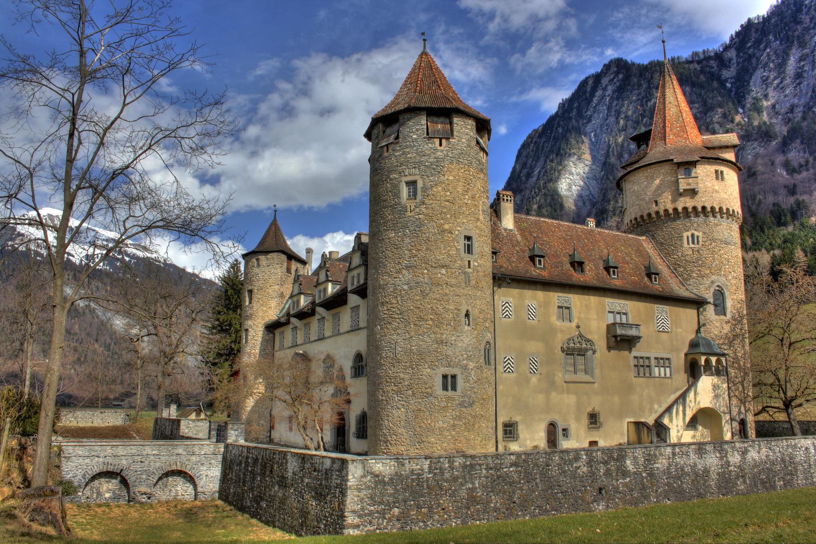 Schloss Marschlins bei Zizers Foto & Bild   architektur