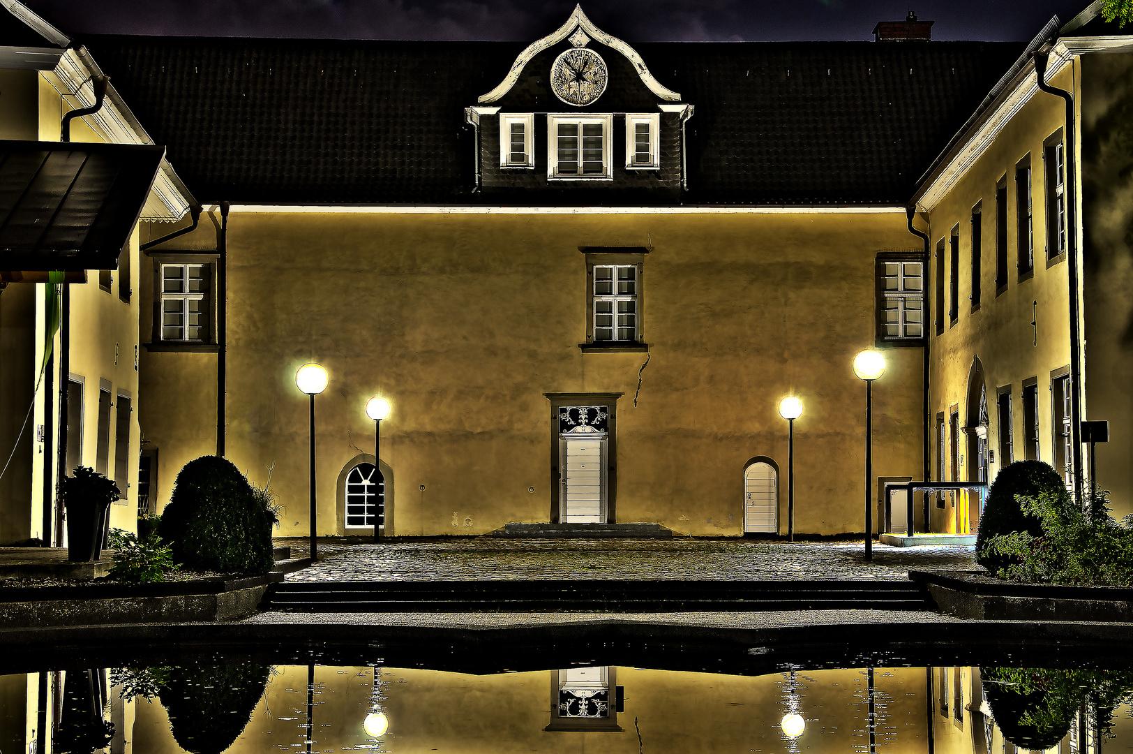 Schloss Martfeld Innenhof