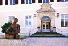 Schloss Mochental, der Eingang