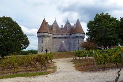 Schloss Monbazillac - Rückfront