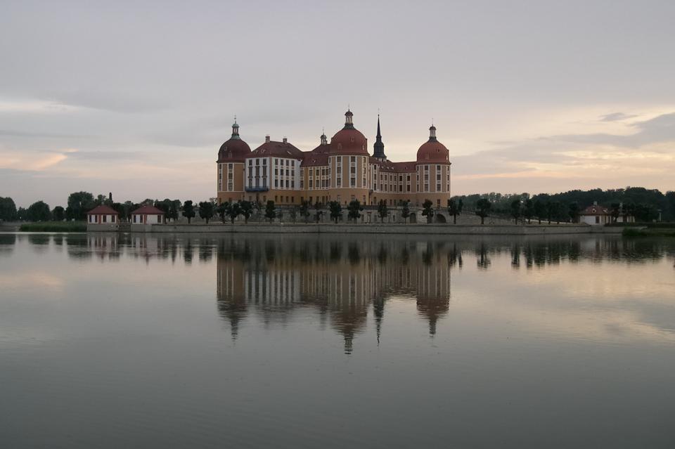 Schloss Moritzburg - Abendstimmung