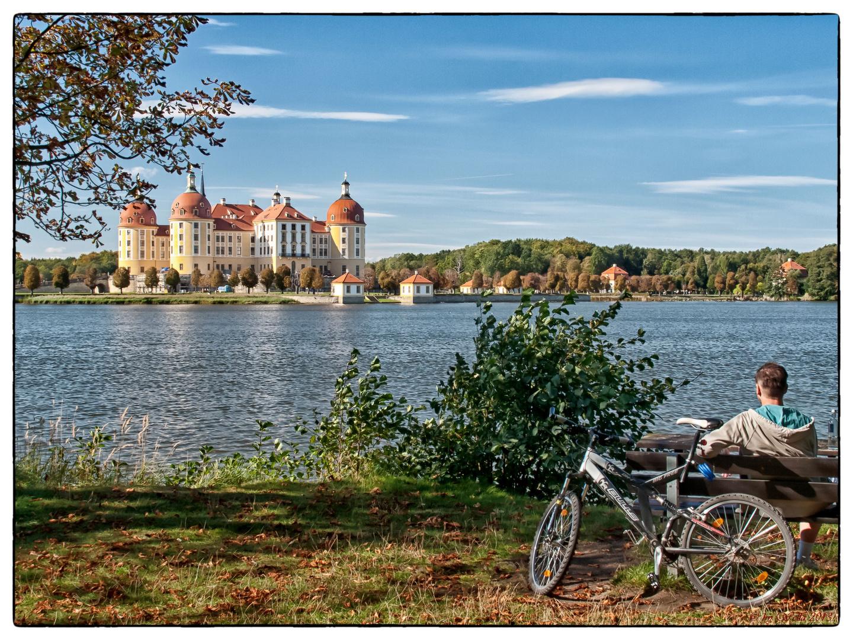 Schloss Moritzburg - hier sollte man verweilen