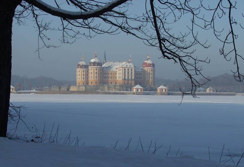 Schloß Moritzburg-Winter 01