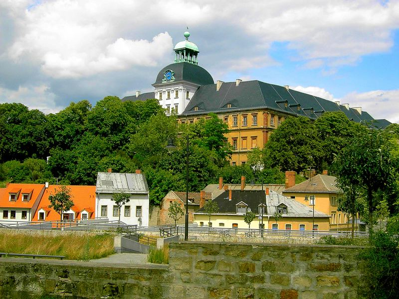 Schloss Neu Augustusburg in Weissenfels
