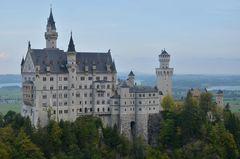 Schloss Neuschwanstein .