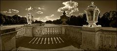 Schloss Nymphenburg in Sepia