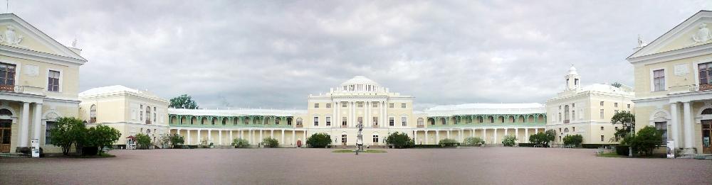 Schloss Pavlovsk bei St Petersburg