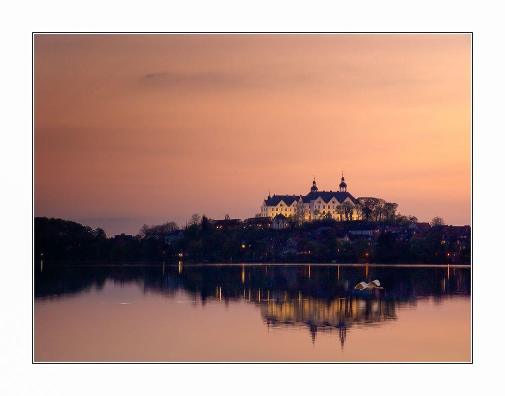 Schloss Plön im Abendlicht
