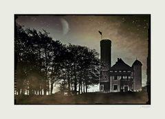 - Schloss Rantzow bei Nacht -