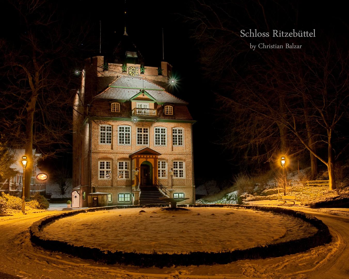 Schloss Ritzebüttel bei Nacht