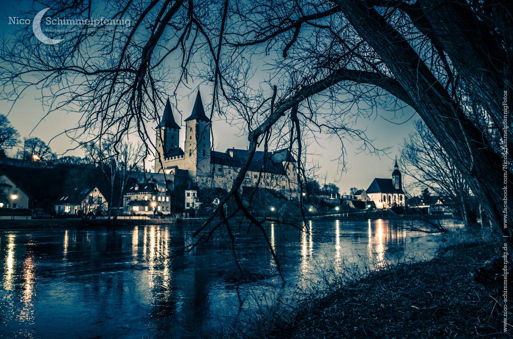 Schloss Rochlitz im Winter
